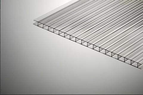 СПК (сотовый поликарбонат) 4 мм прозрачный.