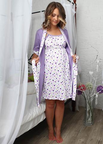 Комплект для роддома Jane для беременных и кормящих; цвет: сирень 6102/1