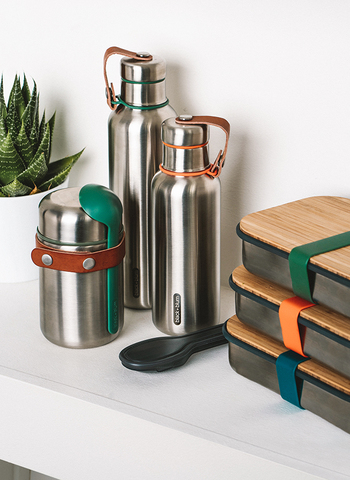 Термос Black+Blum, Food Flask, 400 мл, оранжевый