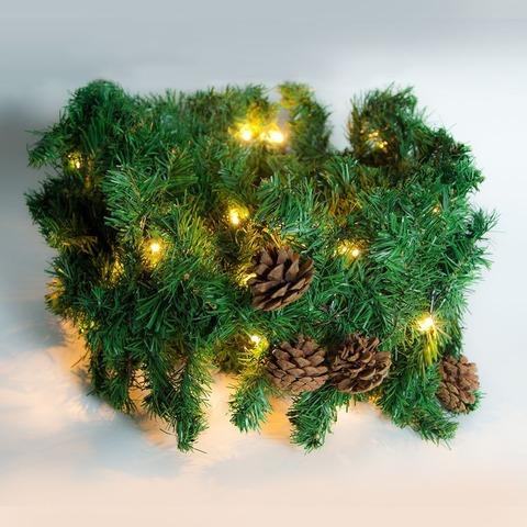 Гирлянда светодиодная мишура «Ветка елки», CL560 (Feron)