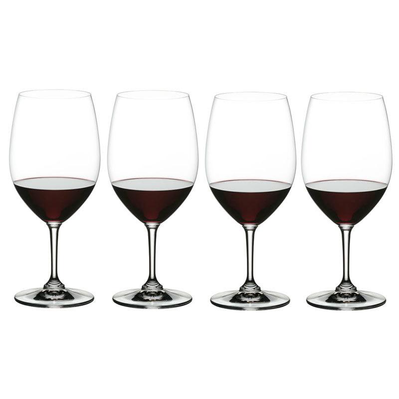 Набор хрустальных бокалов для красного вина 4 шт, 610 мл, VIvino, Nachtmann