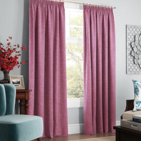 Комплект штор с подхватами Адалин розовый