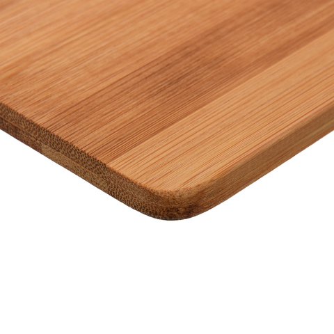 Доска разделочная с ручкой бамбук 40х20 см