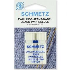 Фото: Игла Twin jeans 130/705 H-J ZWI SES №1-4,0/100