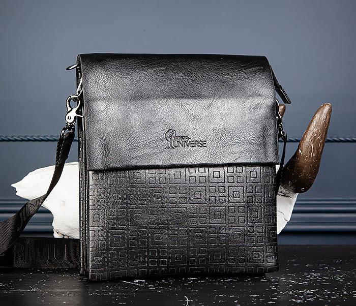 BAG559-1-2 Кожаная сумка планшет для города фото 04