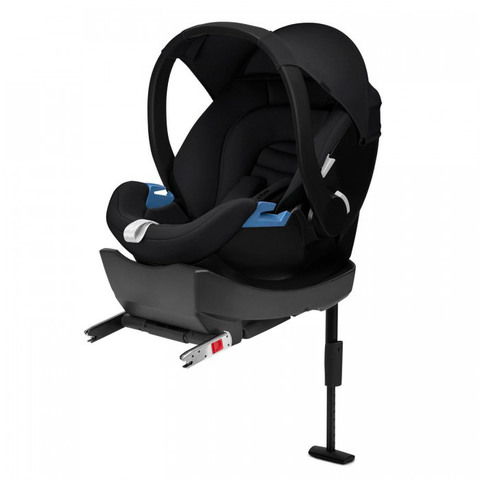 Автокресло Cybex Aton Basic CBX Cozy Black + база Base-fix
