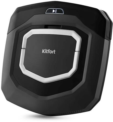 Пылесос-робот Kitfort KT-570 25Вт черный
