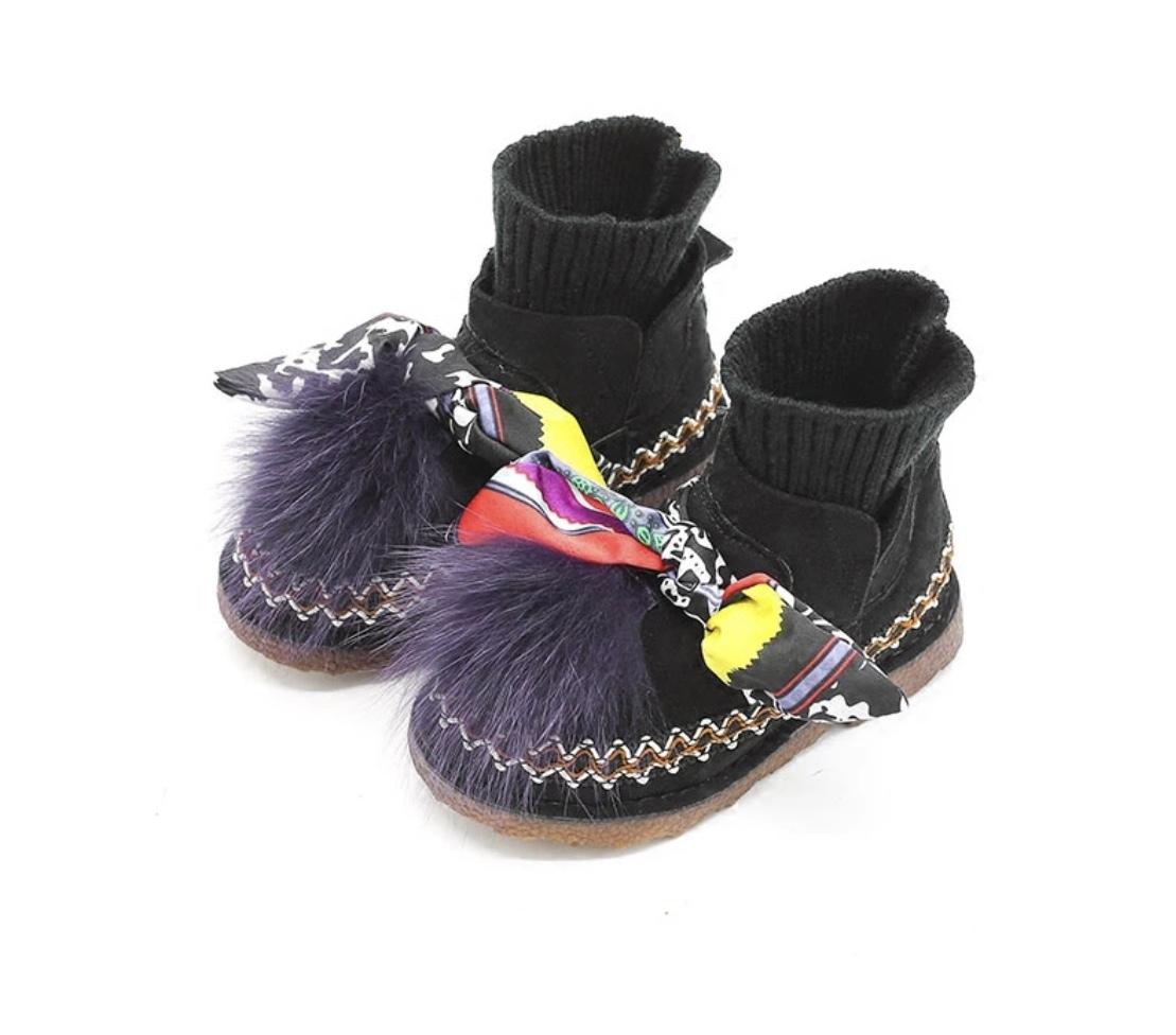 Ботиночки с мехом