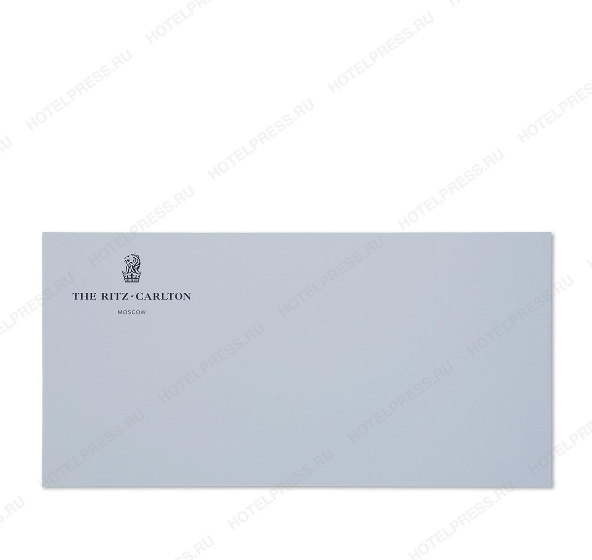 Фирменные конверты отеля THE RITZ-CARLTON