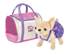 Smoby Мягкая игрушка Chi Chi love Собачка с сумочкой