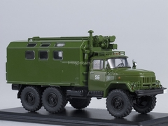 ZIL-131 KUNG MTO ATM khaki 1:43 Start Scale Models (SSM)