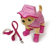 Smoby Собачка Чихуахуа в розовой панаме и плаще (5895925)