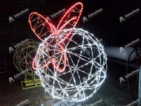 Световая фигура Шар светодиодный
