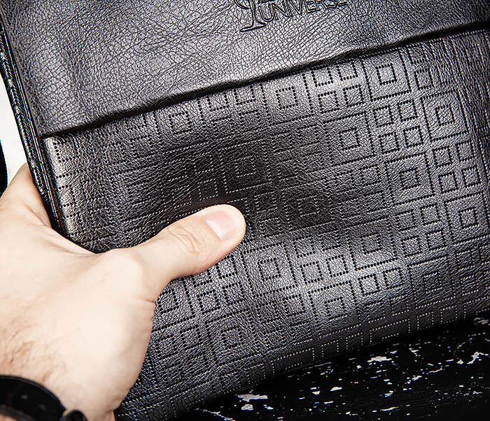 BAG559-1-2 Кожаная сумка планшет для города фото 06