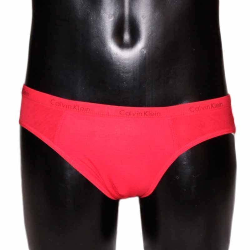 Мужские трусы брифы красные Calvin Klein Brief