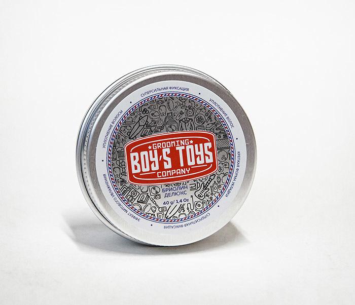 CARE180 Бриолин для укладки волос Boy's Toys «Делюкс» (40 гр) фото 02