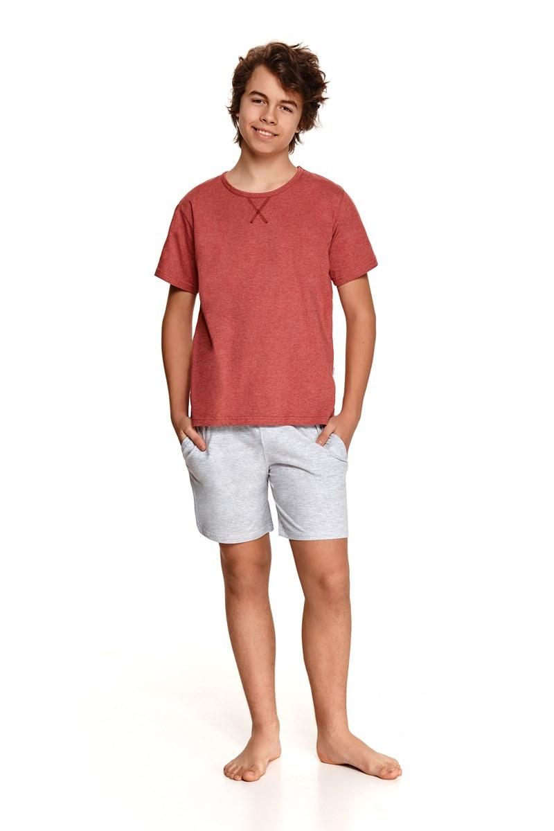 Пижама подростковая с шортами для мальчиков TARO 2539 SS21 ALBERT