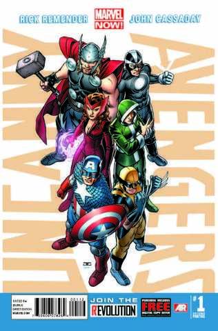 Uncanny Avengers (2012) #1