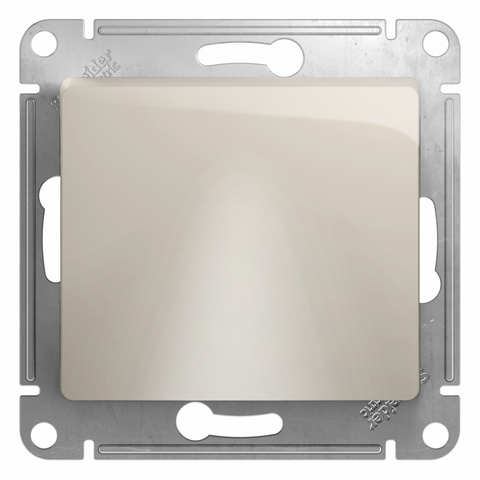 Вывод кабеля. Цвет Молочный. Schneider Electric Glossa. GSL000999