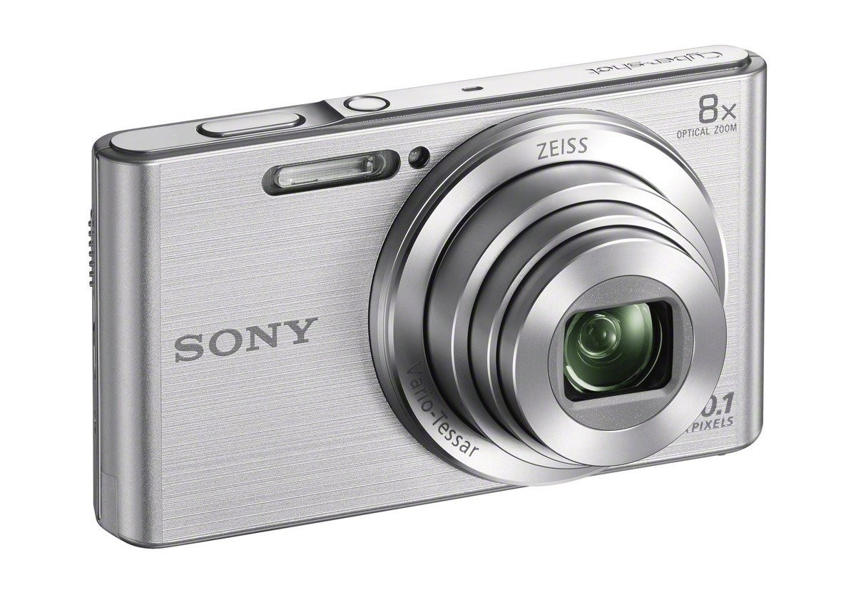 DSC-W830S фотоаппарат Sony, серебристый