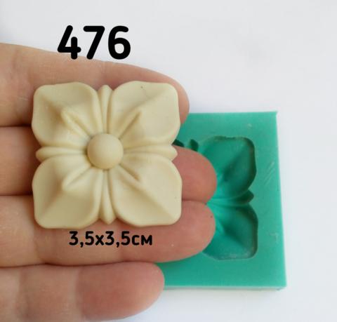 0476 Молд Розетка квадратная