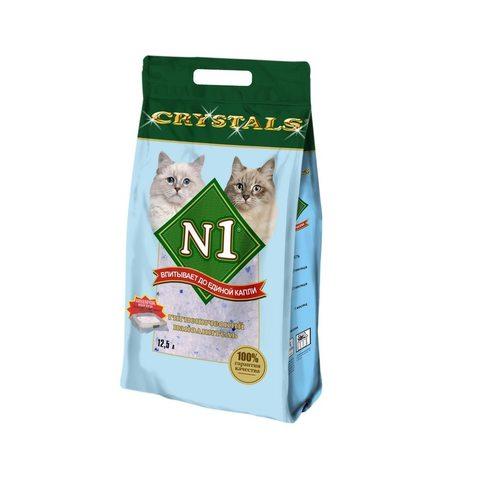 Наполнитель силикагелевый Litter N1 Crystals-silica gel