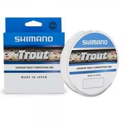 Леска SHIMANO Trout 150м прозрачная 0,225мм 5,4кг