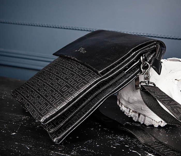 BAG559-1-2 Кожаная сумка планшет для города фото 07