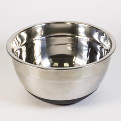 Миска кухонная из нерж с крышкой 2,3 литра, 20 см