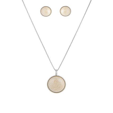 Комплект pearl amazonite beige S1565.12 BR/S