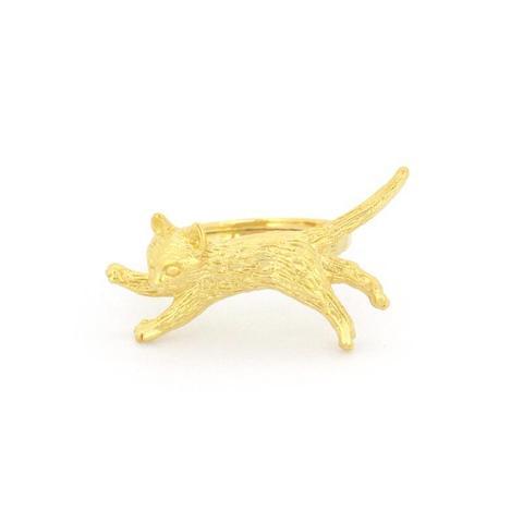 Кольцо Прыгающий Котик
