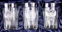 Подарочный набор граненных стаканов «Неподвластный времени», фото 1