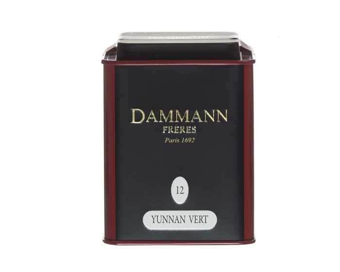 Чай зеленый юннань Dammann The Vert Yunnan, 100 г