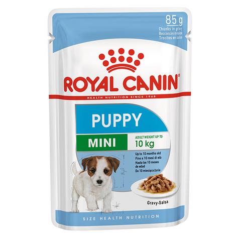 ROYAL CANIN Консервы в соусе для щенков мелких пород до 10 месяцев MINI Puppy