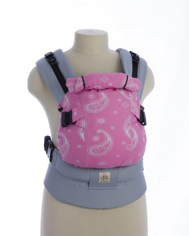 Эрго-рюкзак Мини-люкс зефир розовый