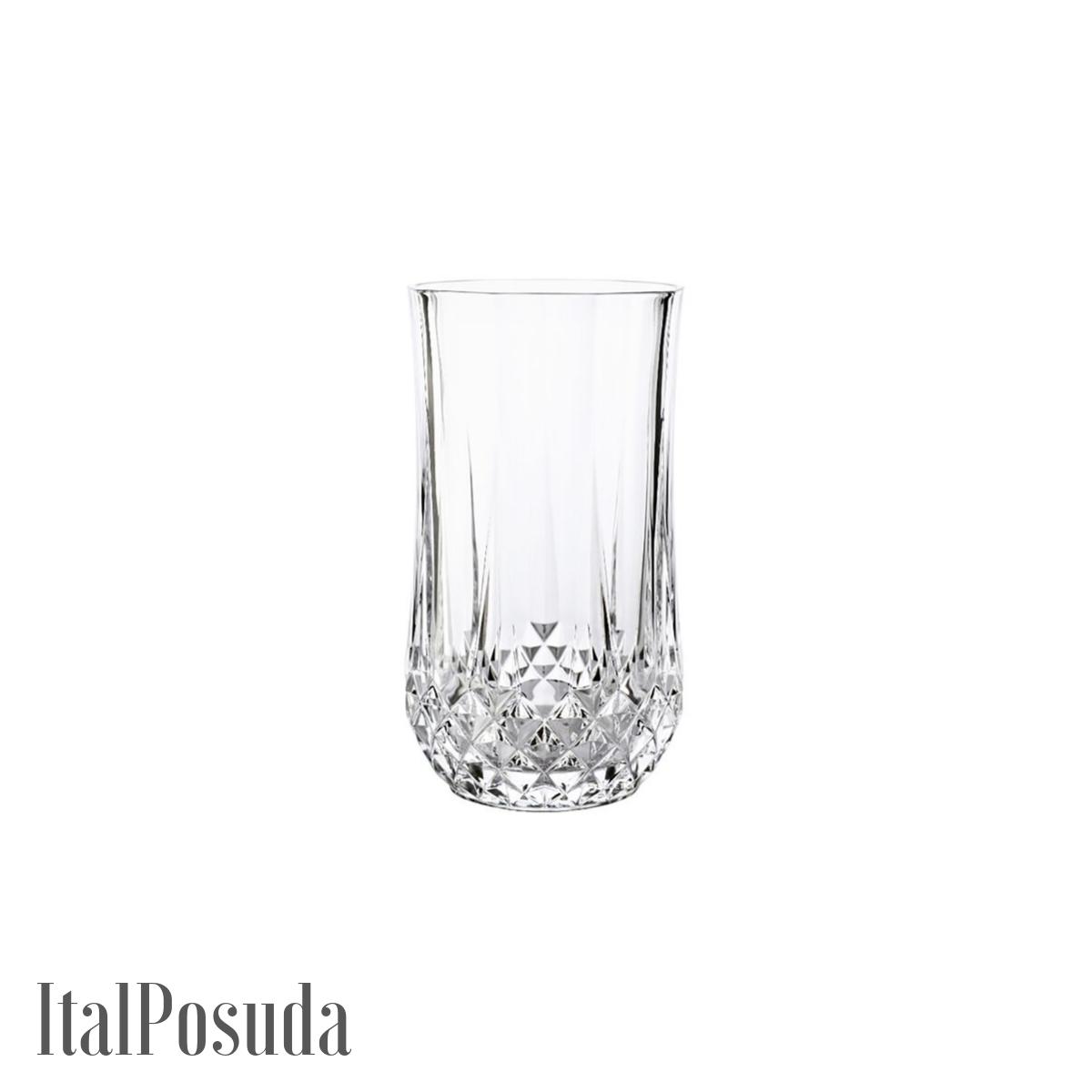 Набор стаканов Eclat Cristal d'Arques Longchamp (Лонгшамп), 6 шт L7554
