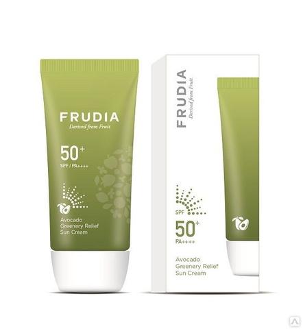 FRUDIA Солнцезащитный восстанавливающий крем с авокадо SPF50 + PA ++++ 50мл