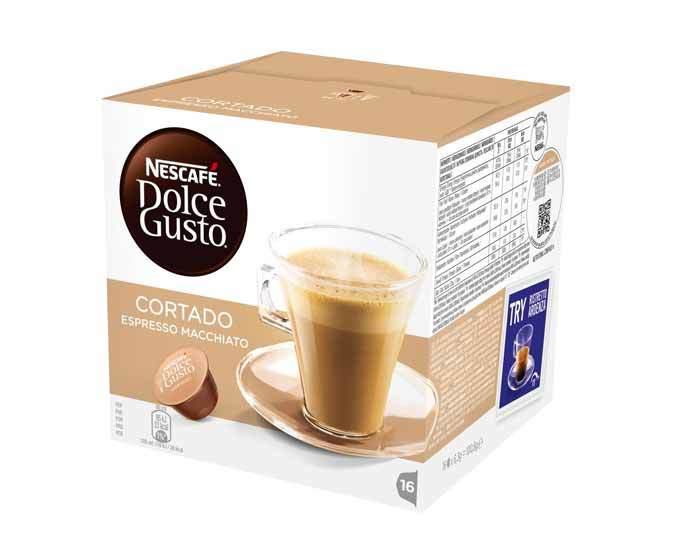 Кофе в капсулах Dolce Gusto Cortado, 16 капсул