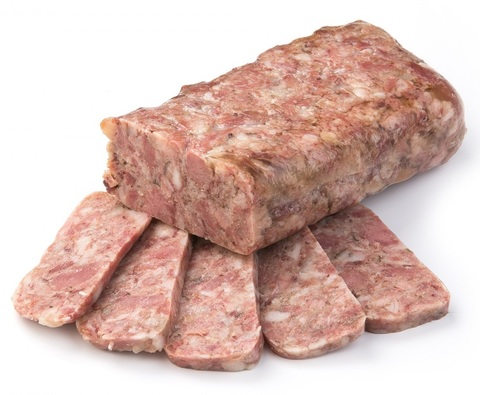 Рулет из мяса свиных голов