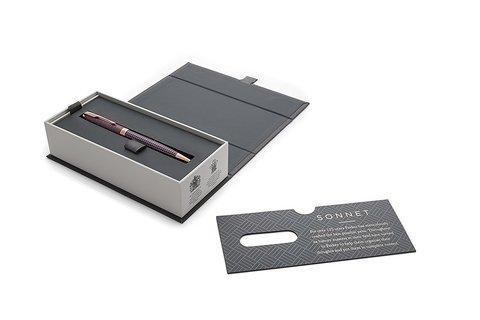 Шариковая ручка Parker Sonnet Cisele Purple PGT123