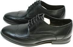 Строгие туфли под классический костюм мужские Ikos 1157-1 Classic Black.