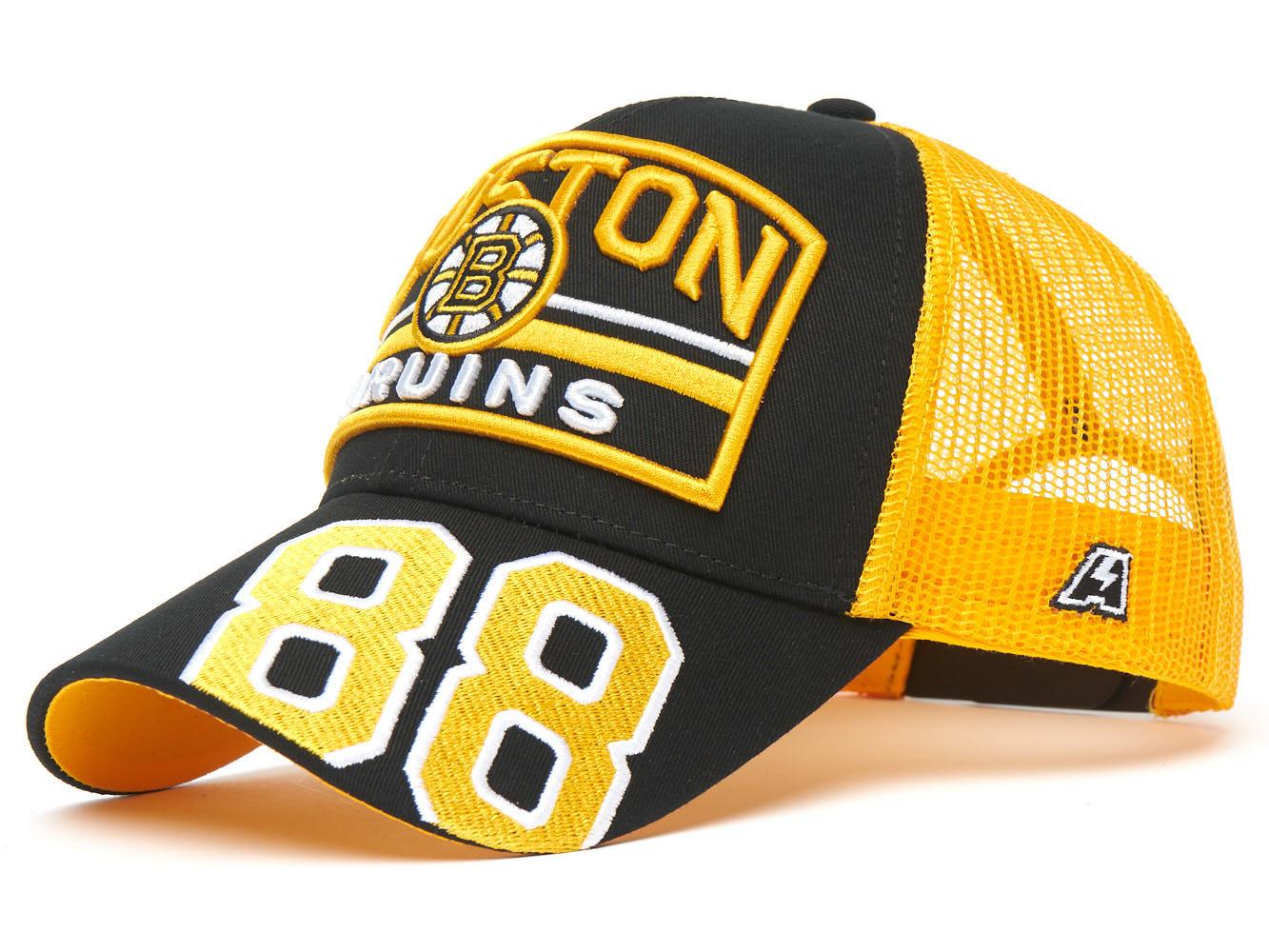 Бейсболка NHL Boston Bruins №88