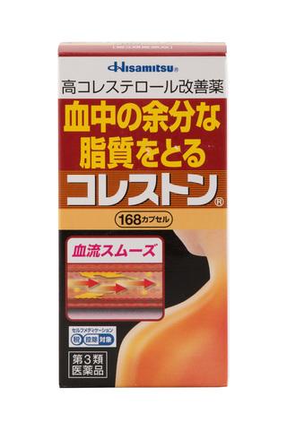 Hisamitsu Холестон - препарат для снижения холестерина в крови