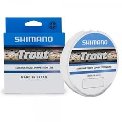 Леска SHIMANO Trout 150м прозрачная 0,185мм 3,50кг