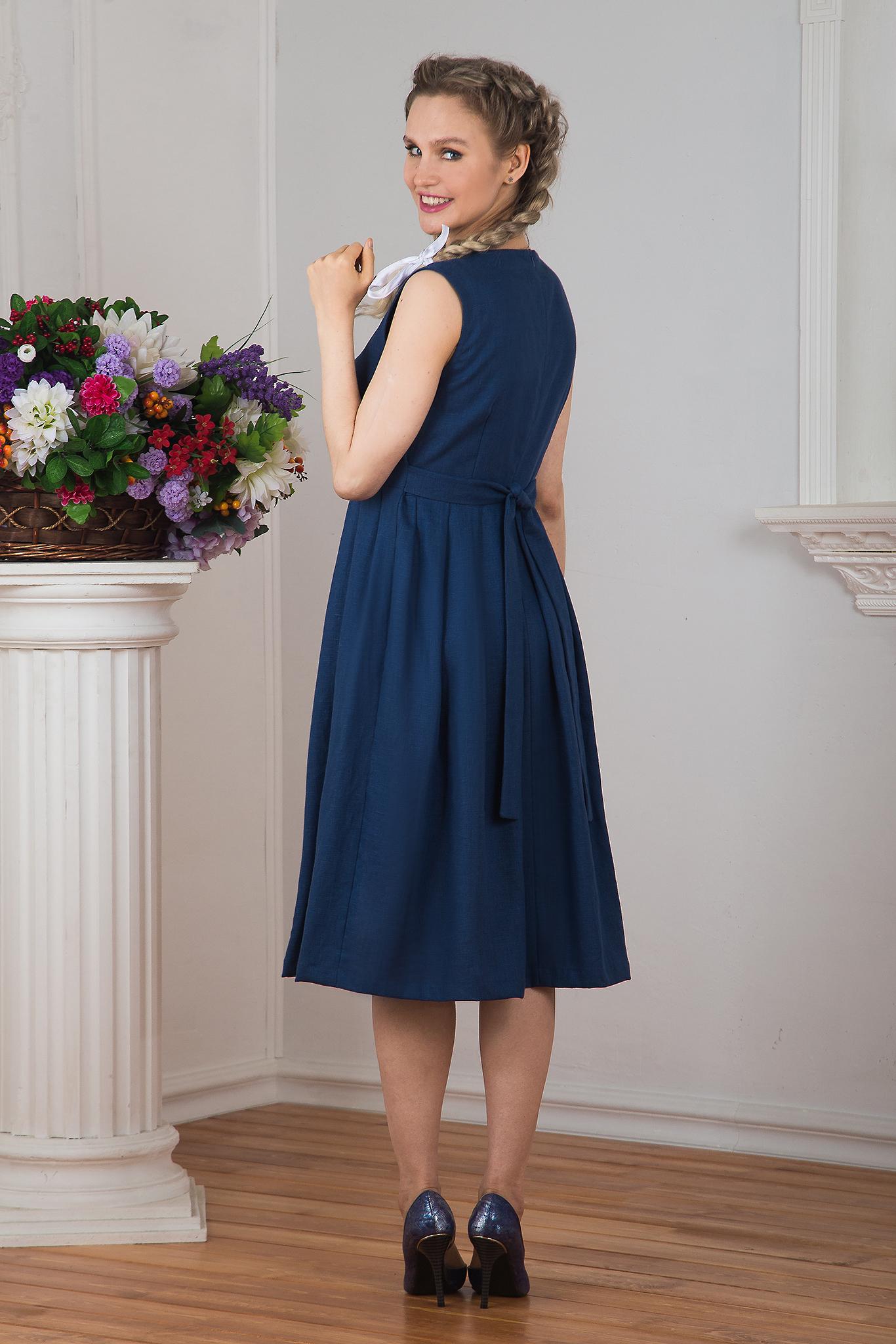 Русское-народное платье Девица фото сзади