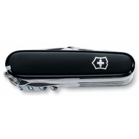 Нож перочинный Victorinox SwissChamp (1.6795.3) 91мм 33функций черный