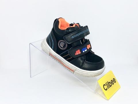 Clibee (деми) F712 Black/Orange 20-25