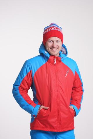 Утепленная куртка Nordski Jr. National Red подростковая