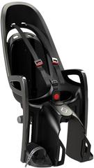 Детское велокресло на багажник Hamax Zenith серый/черный