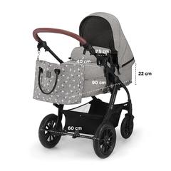 Коляска 3 в 1 Kinderkraft XMOOV Grey